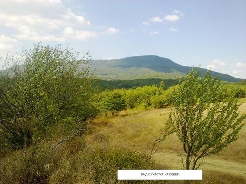 Продается земельный участок с озером ЛПХ 1га село Аромат, Горный Крым - Фото 5