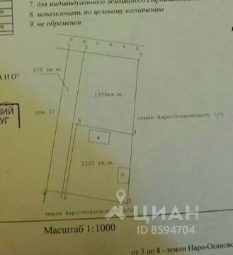 Продажа участка, Наро-Осаново, Одинцовский район, 36