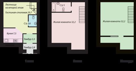 Продажа квартиры, Тюмень, Ул. Октябрьская, Купить квартиру в Тюмени по недорогой цене, ID объекта - 318370084 - Фото 1