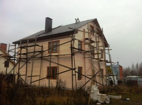 """Качественный дом под """"чистовую отделку"""" г. Руза, дом в Рузе - Фото 1"""