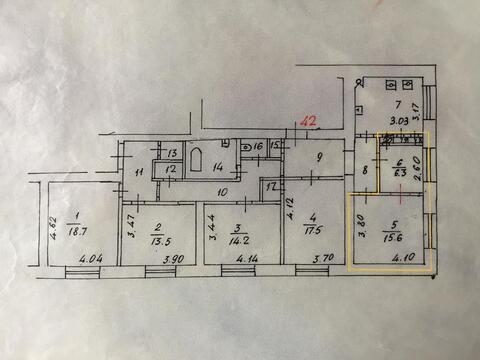 Продам 2 комнаты в квартире - Фото 2