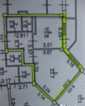 Продажа 1 комнатной квартиры на Псковской, дом 56 в Великом Новгороде - Фото 2