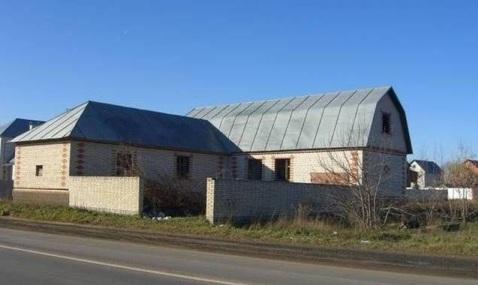 Продам недостроенный кирпичный дом в деревне Клишева. - Фото 1