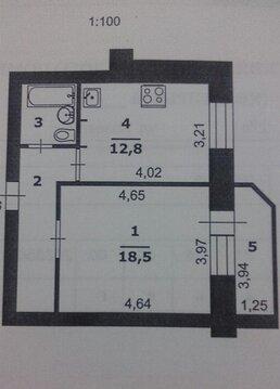 1-к квартира в кирпичном доме - Фото 2