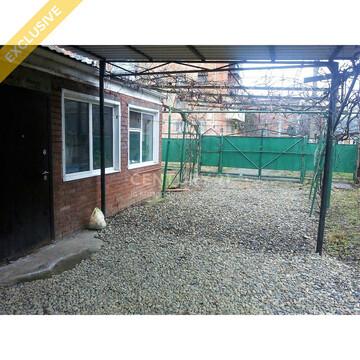 Продается дом(Кирпич)56 кв.6 соток.Навес.Заезд под авто (Яблоновский) - Фото 1