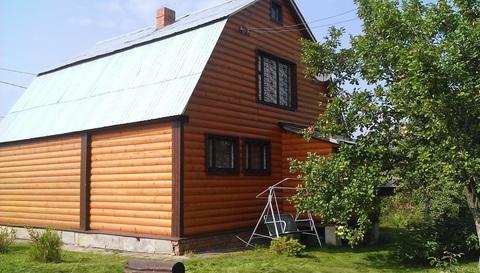 Продается дача , Домодедовский район ст. Привалово, сруб с баней - Фото 1
