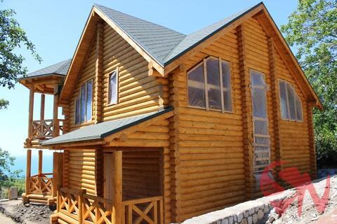 Предлагаю купить качественный дом-сруб в Алупке с потрясающим видо - Фото 4
