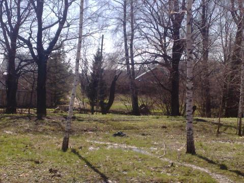 В районе д. Дыдылдино, участок 1600 кв.м, 7 км от МКАД - Фото 1