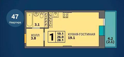 Квартира в ЖК Ольховский мкр Парковый - Фото 4