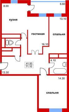 3-комнатная квартира в Красногорске - Фото 3