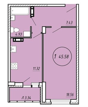 Продажа квартиры, Липецк, Ул. Бехтеева - Фото 2