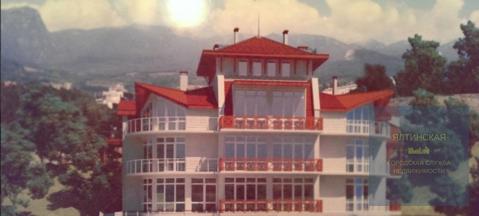 Продается дом 844 м2 на участке 37 сот. в тихом видовом месте Гурзуфа - Фото 1