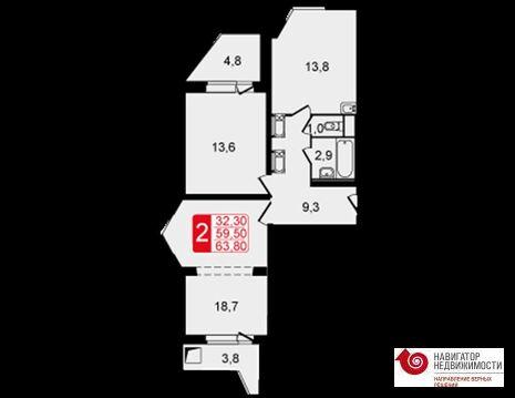 Продажа квартиры, Балашиха, Балашиха г. о, Пр-кт Героев - Фото 2