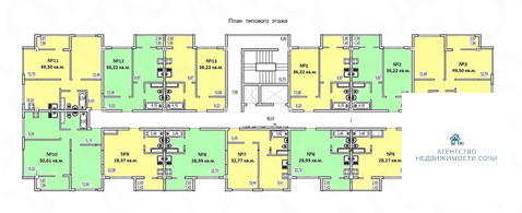 Продается квартира Краснодарский край, г Сочи, ул Армавирская, д 1 - Фото 5