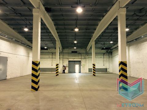 660 кв.м. теплый склад с антипылевыми полами - Фото 1
