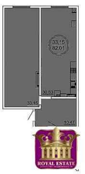 Продам квартиру студию 82 м2 в ЖК «Castle Houses». - Фото 1