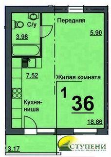 Объявление №50910432: Продаю 1 комн. квартиру. Курган, 16 микрорайон, 10,