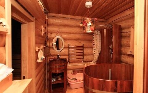 Дом бревенчаный с баней - Фото 1