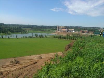 Прилесной участок с панорамными видами на рублёвке - Фото 1