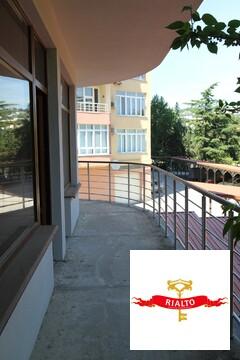 Престижная 2к квартира в Гурзуфе 79,4 кв.м. 85 м. от моря - Фото 4