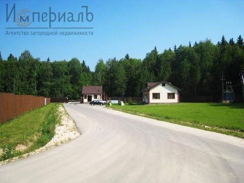 Участок с выходом в лес в элитном кп Киевская Русь - Фото 2