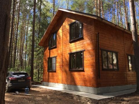 Загородный новый дом в лесу на берегу Волги - Фото 4
