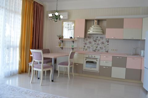 2-комнатная в центре Ялты, вид на море, закрытый комплекс - Фото 3