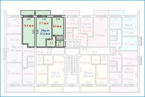 2-комн. квартира-апартаменты с хорошим ремонтом в центре Зеленограда - Фото 4