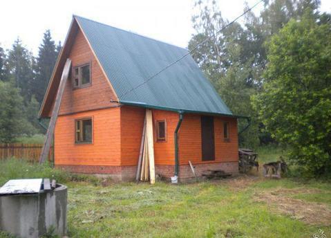 Новая дача из бруса недалеко от г Малоярославец - Фото 1