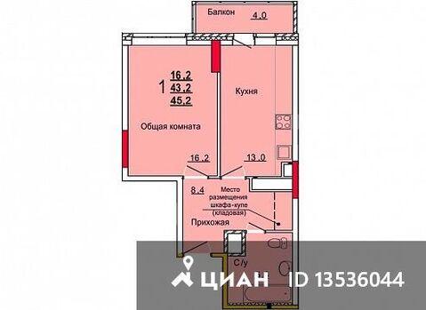 Продаю1комнатнуюквартиру, Тула, улица Кауля, 12, Купить квартиру в Туле по недорогой цене, ID объекта - 322797671 - Фото 1