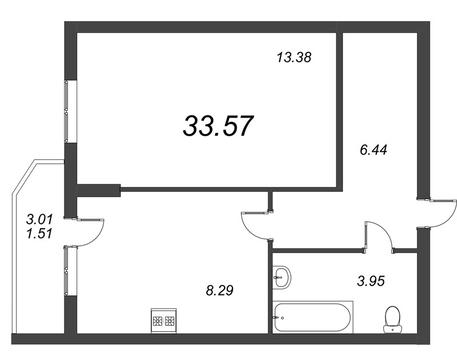 Продам 1к. квартиру. Воронцовский б-р к.А-Г, Купить квартиру Мурино, Всеволожский район по недорогой цене, ID объекта - 318417877 - Фото 1