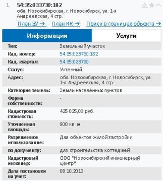 Продажа участка, Новосибирск, м. Заельцовская, Ул. 1-я Андреевская - Фото 1