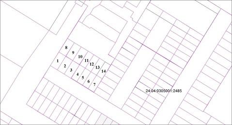 Продам земельный участок под строительство гаража 6х12м г.Сосновоборск - Фото 2