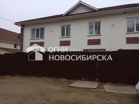 Продажа таунхауса, Новосибирск, Ул. Полякова - Фото 1