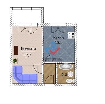 1 ком. квартира по ул. Николая Дмитриева, 15 - Фото 4