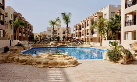 Замечательный трехкомнатный Апартамент недалеко от моря в Пафосе - Фото 1