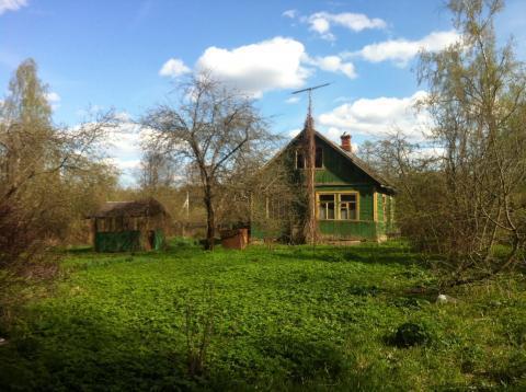 Дачный домик у леса в дачном поселке Бабаево, Рузский район, 93 км. - Фото 1