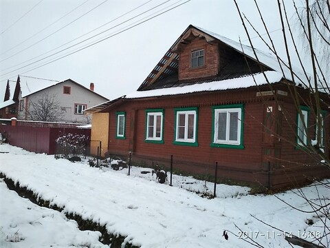 Продается в г.Кимры пол дома 68 кв.м. со всеми коммуникациями - Фото 1