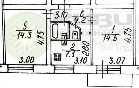 Продажа квартиры, Вологда, Мкр. Первый микрорайон гпз-23 - Фото 5