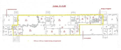 Аренда торгового помещения 436.4 м2, Калининград - Фото 3