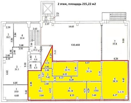 Сдается офис 215,22 кв. м, м. Владыкино - Фото 1