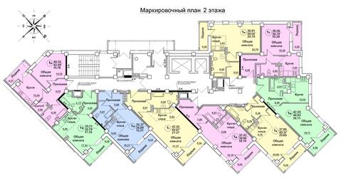 Продажа 1-комнатной квартиры, 39.5 м2, Архитектора Валерия Зянкина, д. . - Фото 4