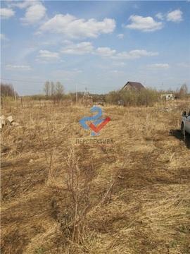 Участок в Калининском районе, д. Базилевка, Сад №33 СНТ Ромашка - Фото 3