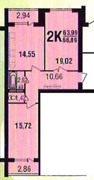 Продам двухкомнатную квартиру в мкр Северный Парк