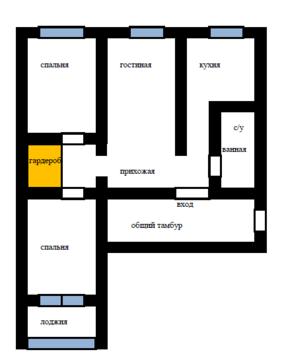 3-к квартира, Попова, 56 - Фото 1