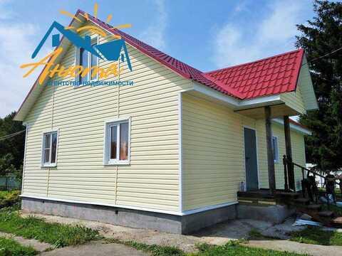 Дом с баней на большом участоке в деревне Ореховка Калужской области - Фото 1