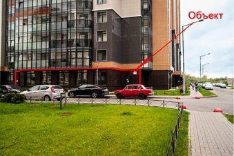Аренда торгового помещения, м. Проспект Ветеранов, Ул. Адмирала . - Фото 1