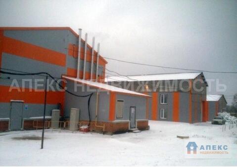 Продажа производства пл. 15000 м2 Егорьевск Егорьевское шоссе в . - Фото 1