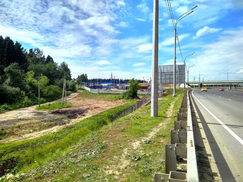 Земля под бизнес на автодороге Москва - Дмитров развязка А-104 с А-107 - Фото 2