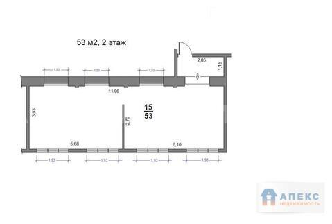 Аренда помещения 52 м2 под офис, м. Тушинская в бизнес-центре класса . - Фото 5